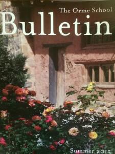 Bulletin Cover - August 2015 2