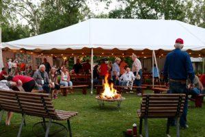 Reunion 2016 - campfire