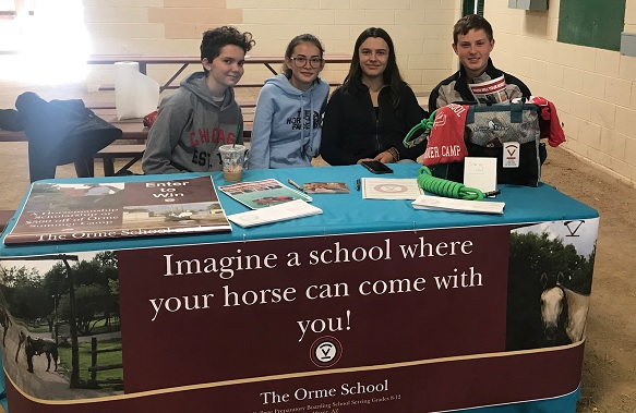 Horsemanship Students Participate In Nbha Winter Blast Orme